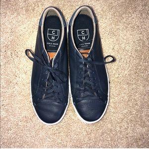 Navy Cole Haan Grand Sneakers